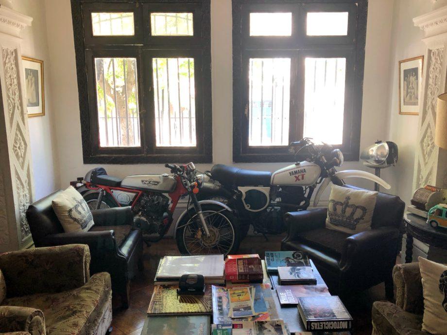 Wohnzimmer der Casa Matta