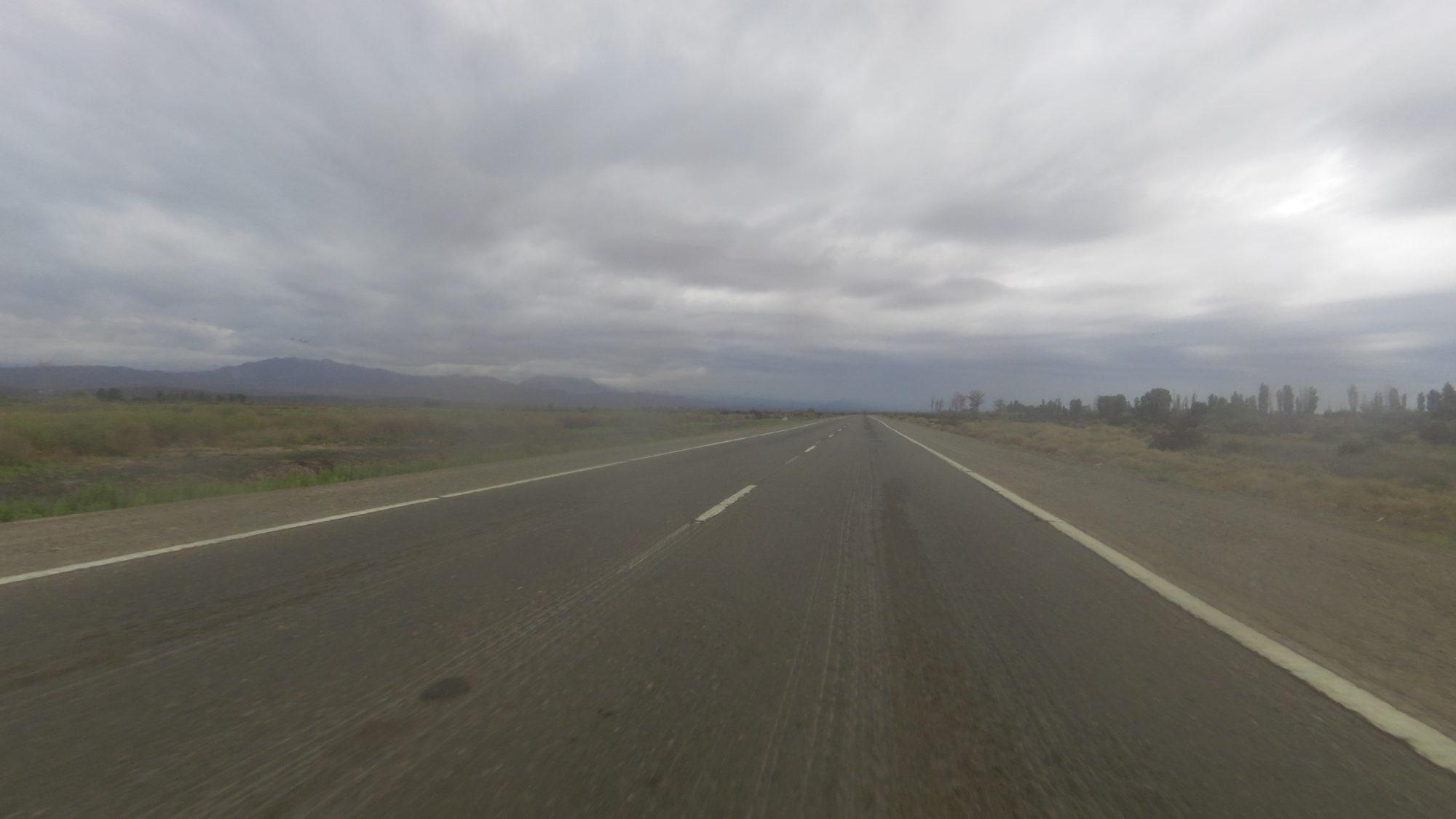 RN40 zwischen Mendoza und San Juan