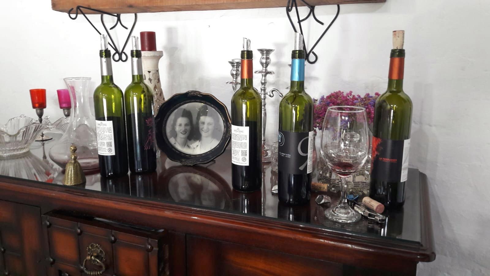 Aber der Wein war der Beste der Tour. Wie man unschwer erkennen kann