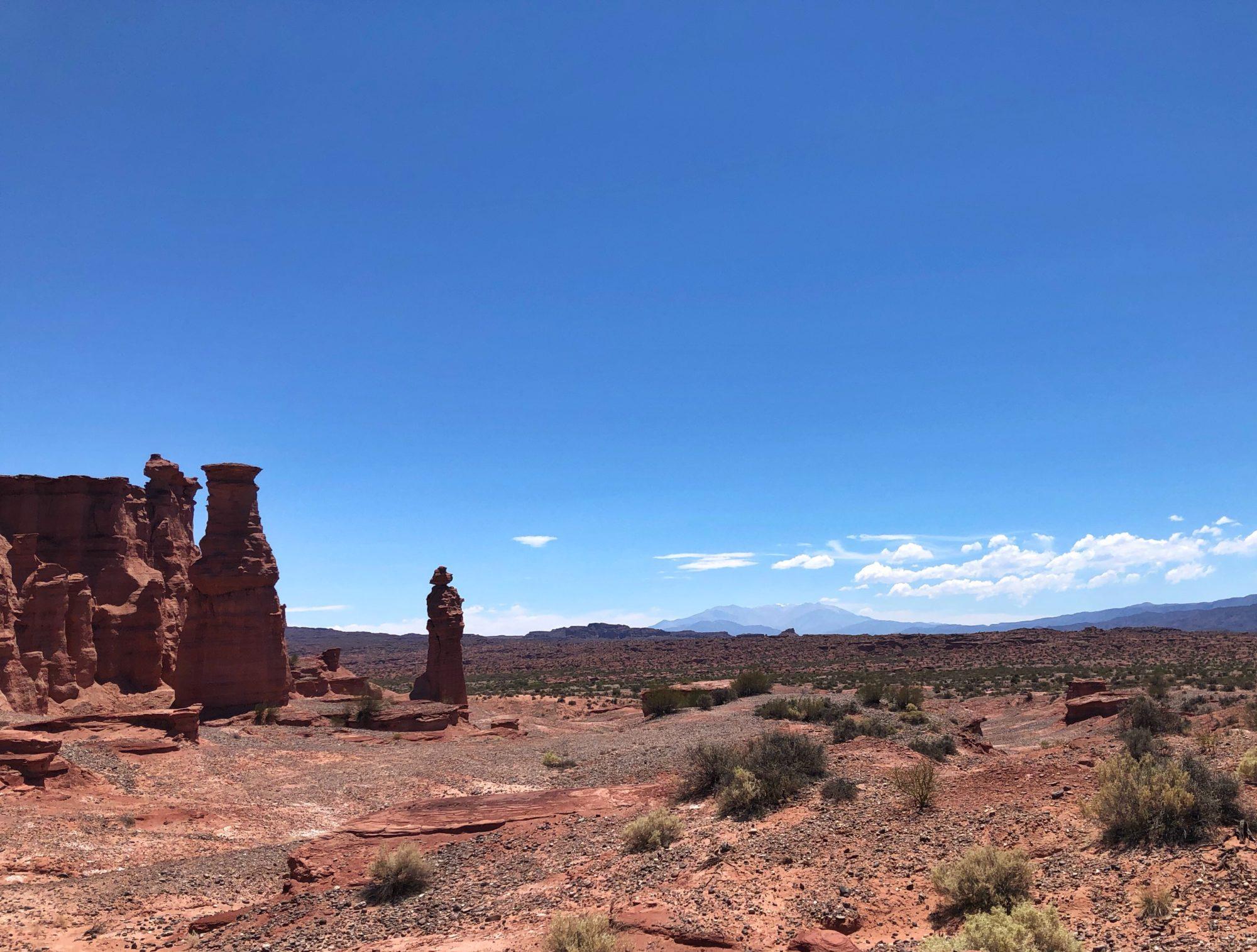 Der Mönch - Nationalpark Talampaya Argentinien