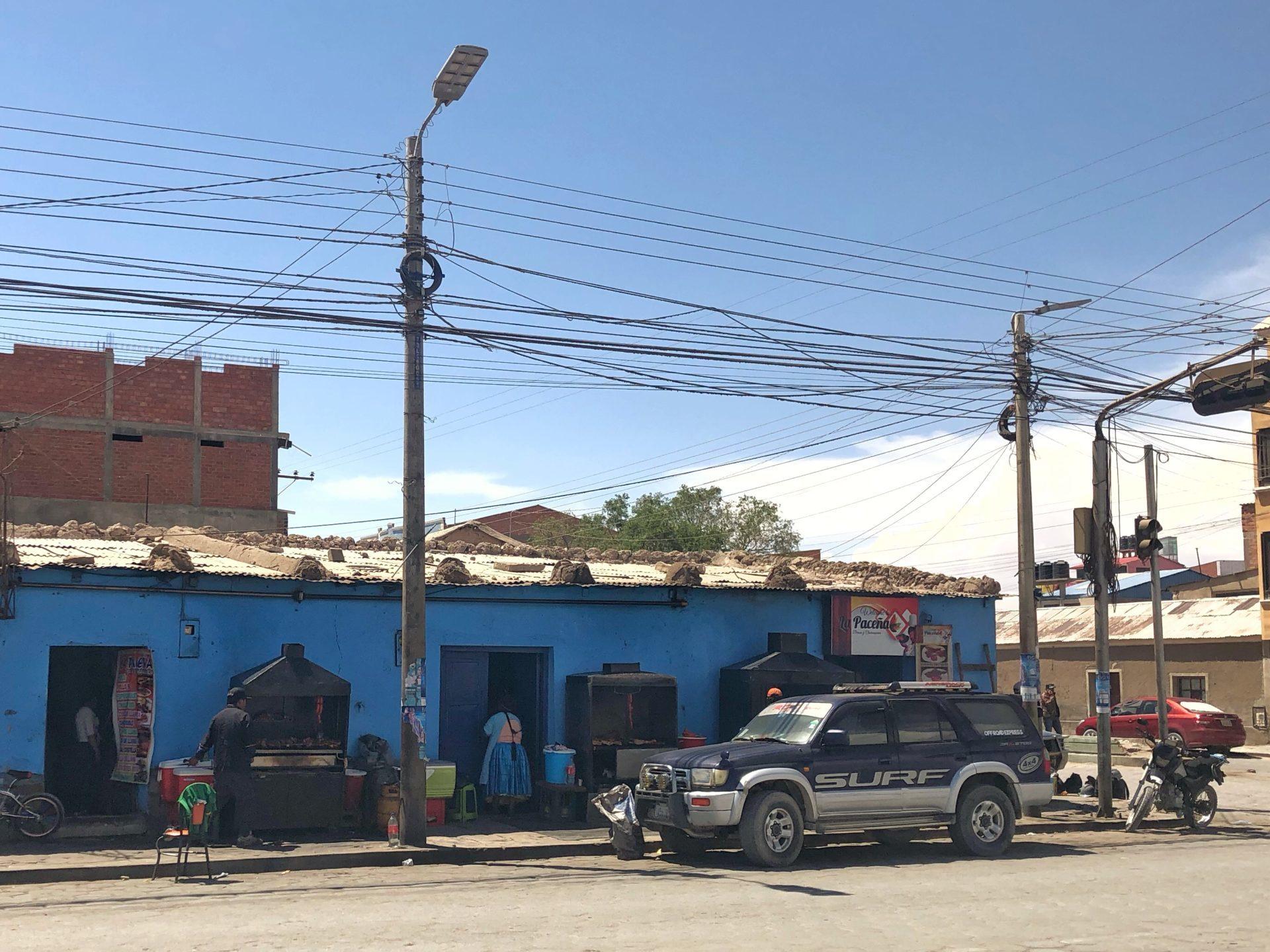 Garküchen Bolivien