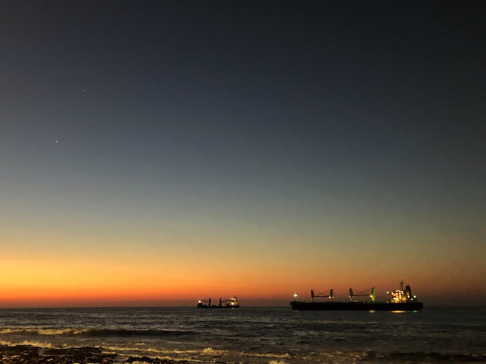 Sonnenuntergang in Antofagasta