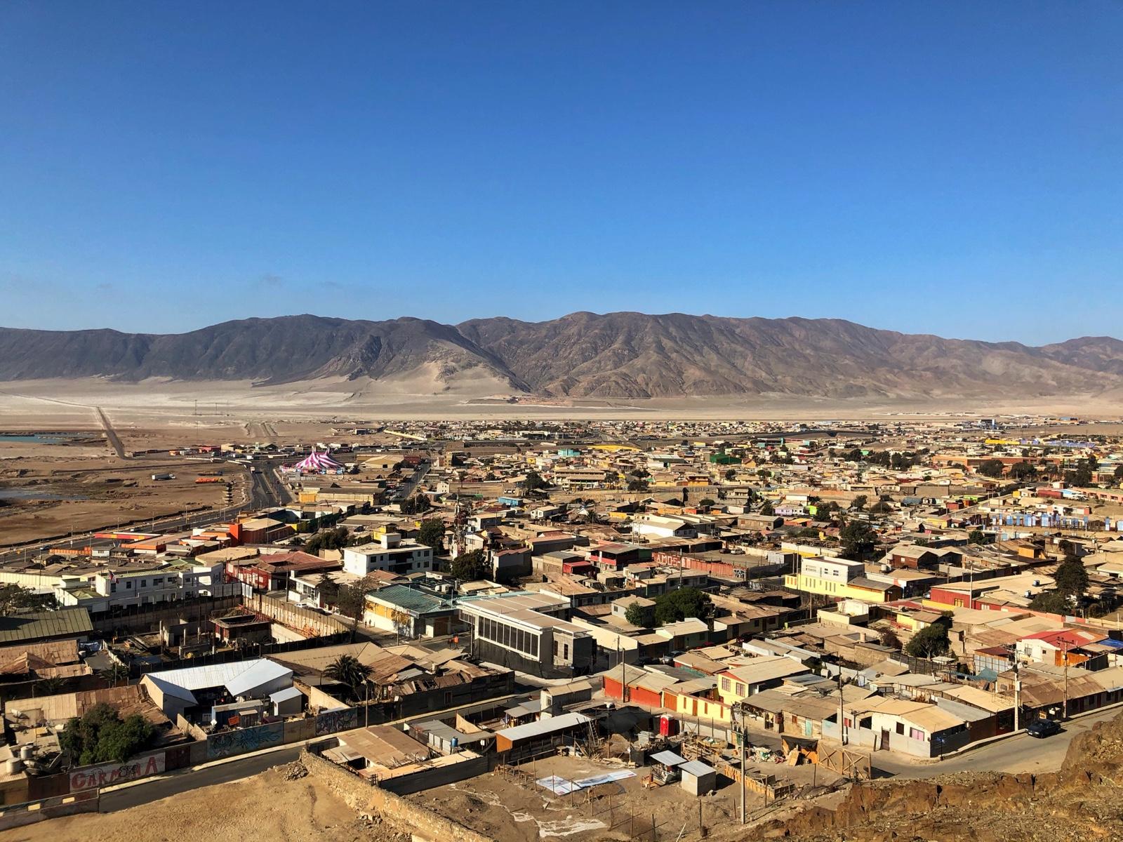 Chañaral von oben