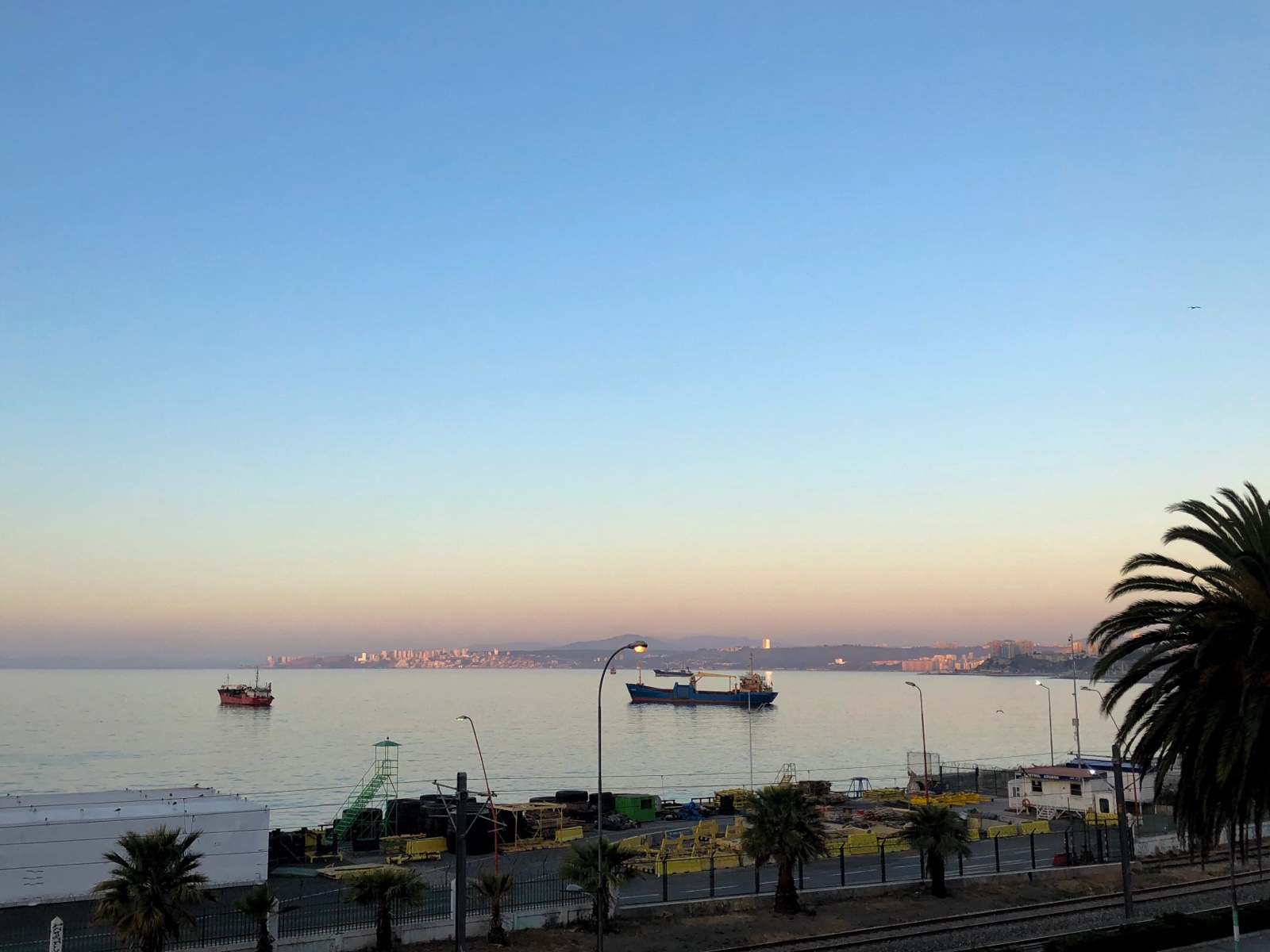Sonnenuntergang Vine Del Mar
