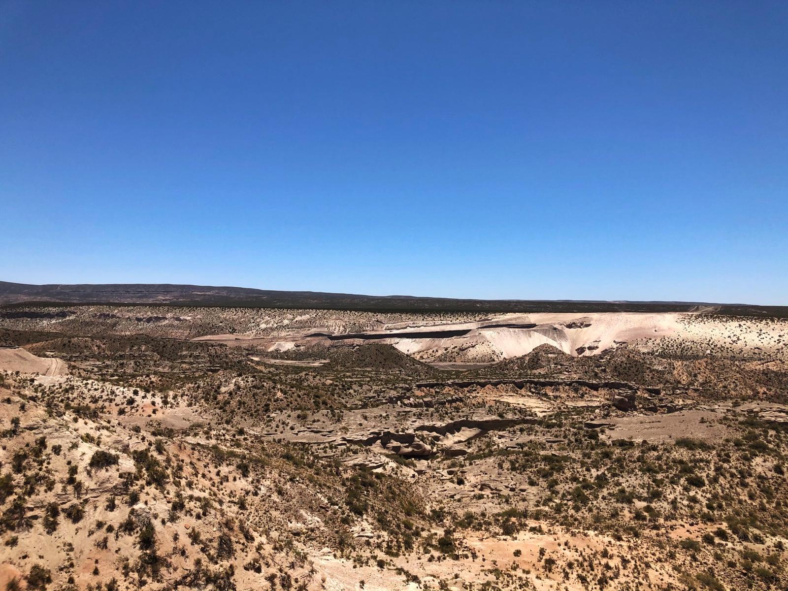 Bizarre Felsen entlang der Ruta 40
