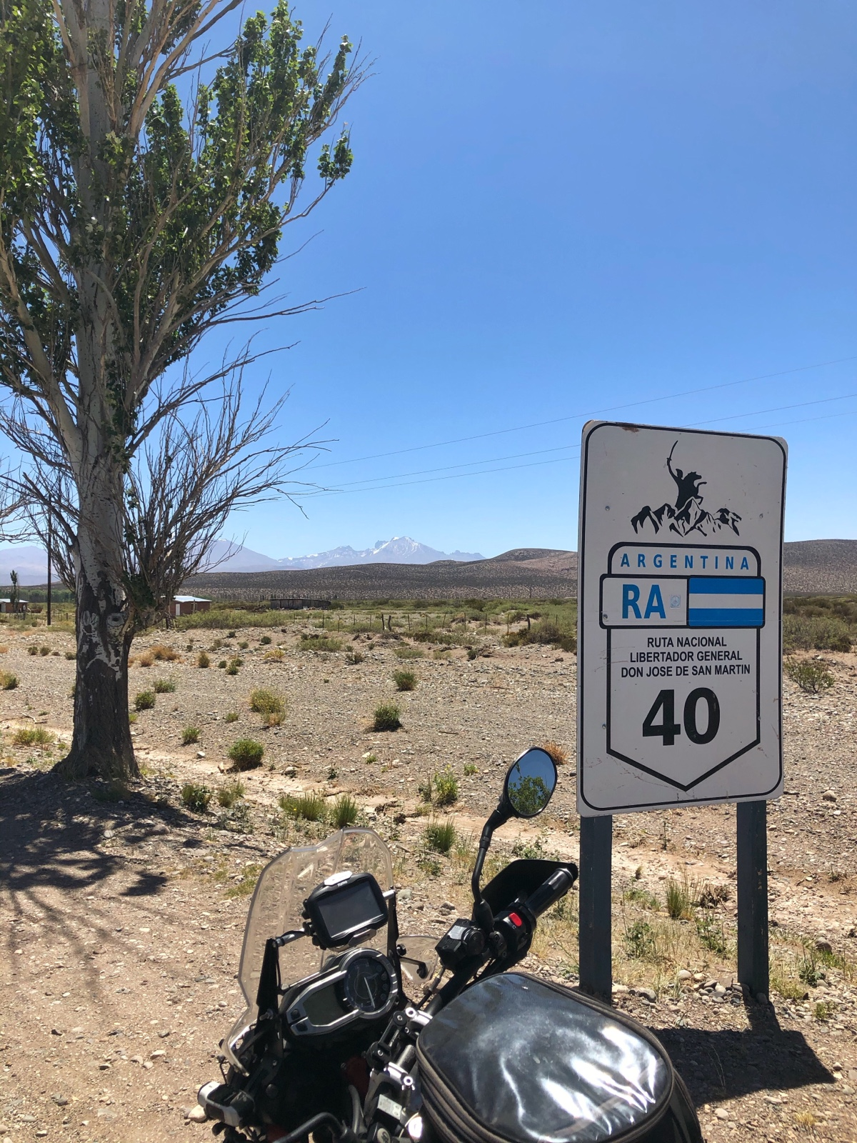 Nur noch knapp 3000 Kilometer zu fahren.