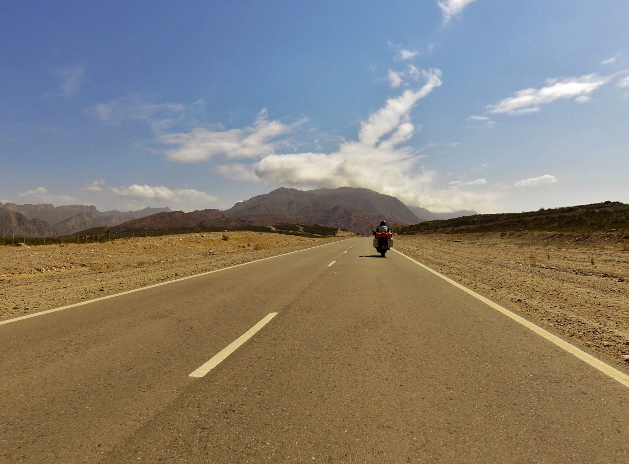 Anfahrt zum Plateau