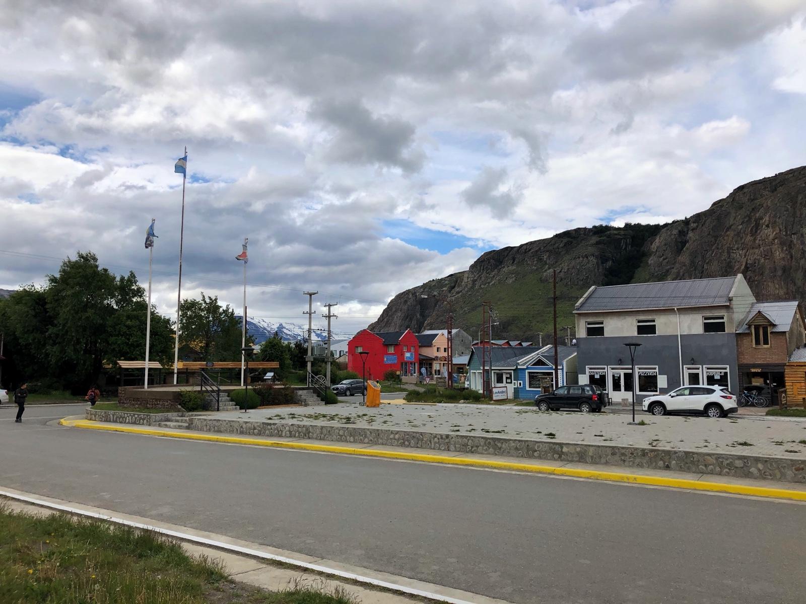 Hauptstraße in El Chalten