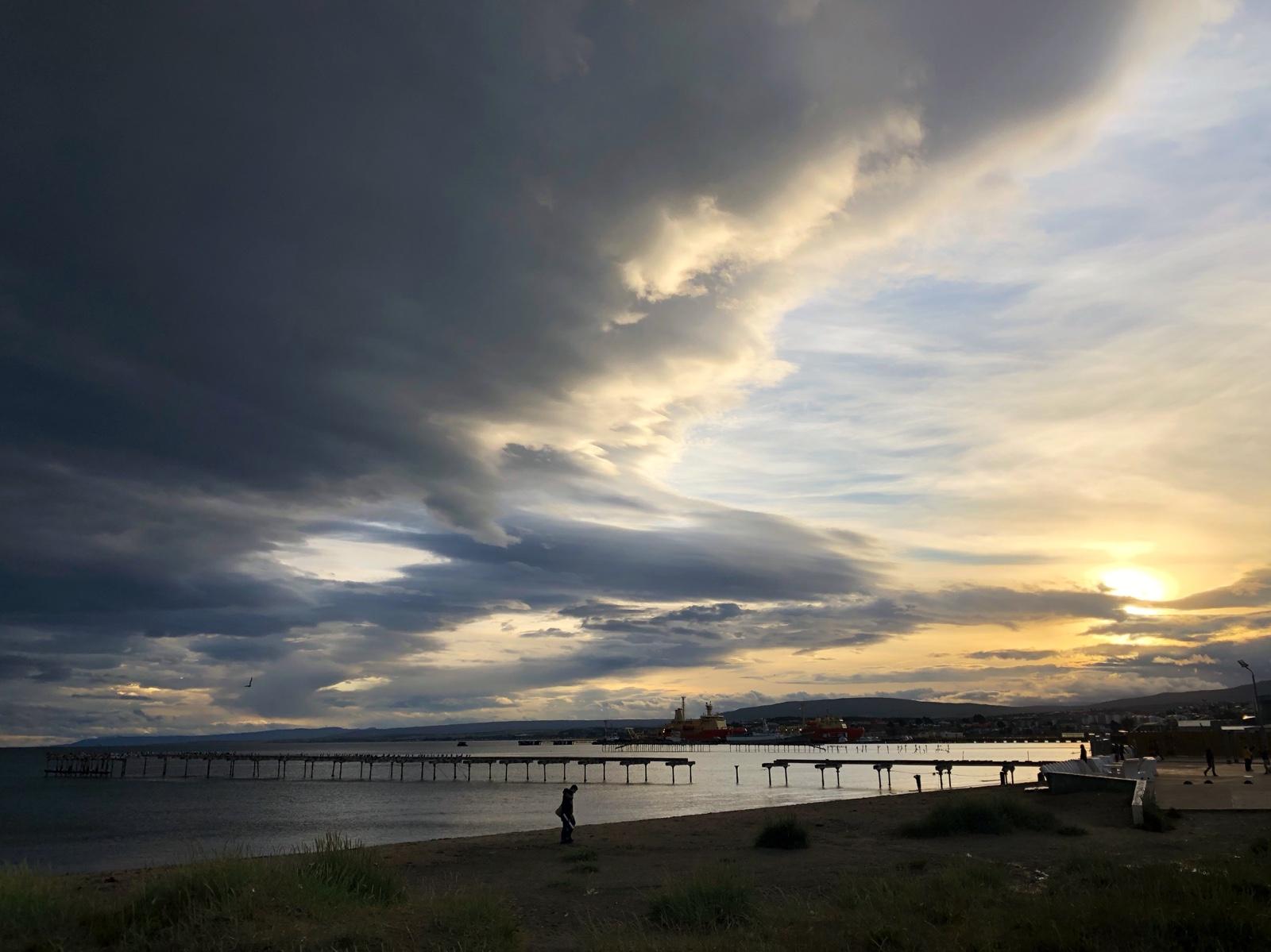 Abendstimmung in Punta Arenas
