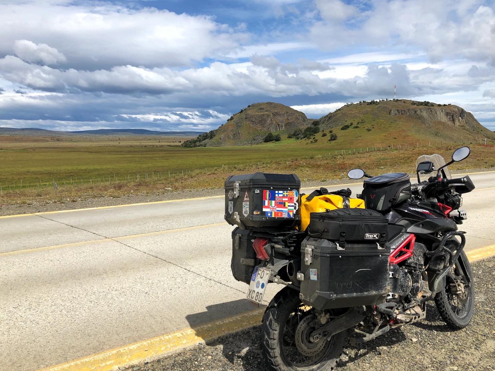 Auf dem Weg nach Puerto Natales