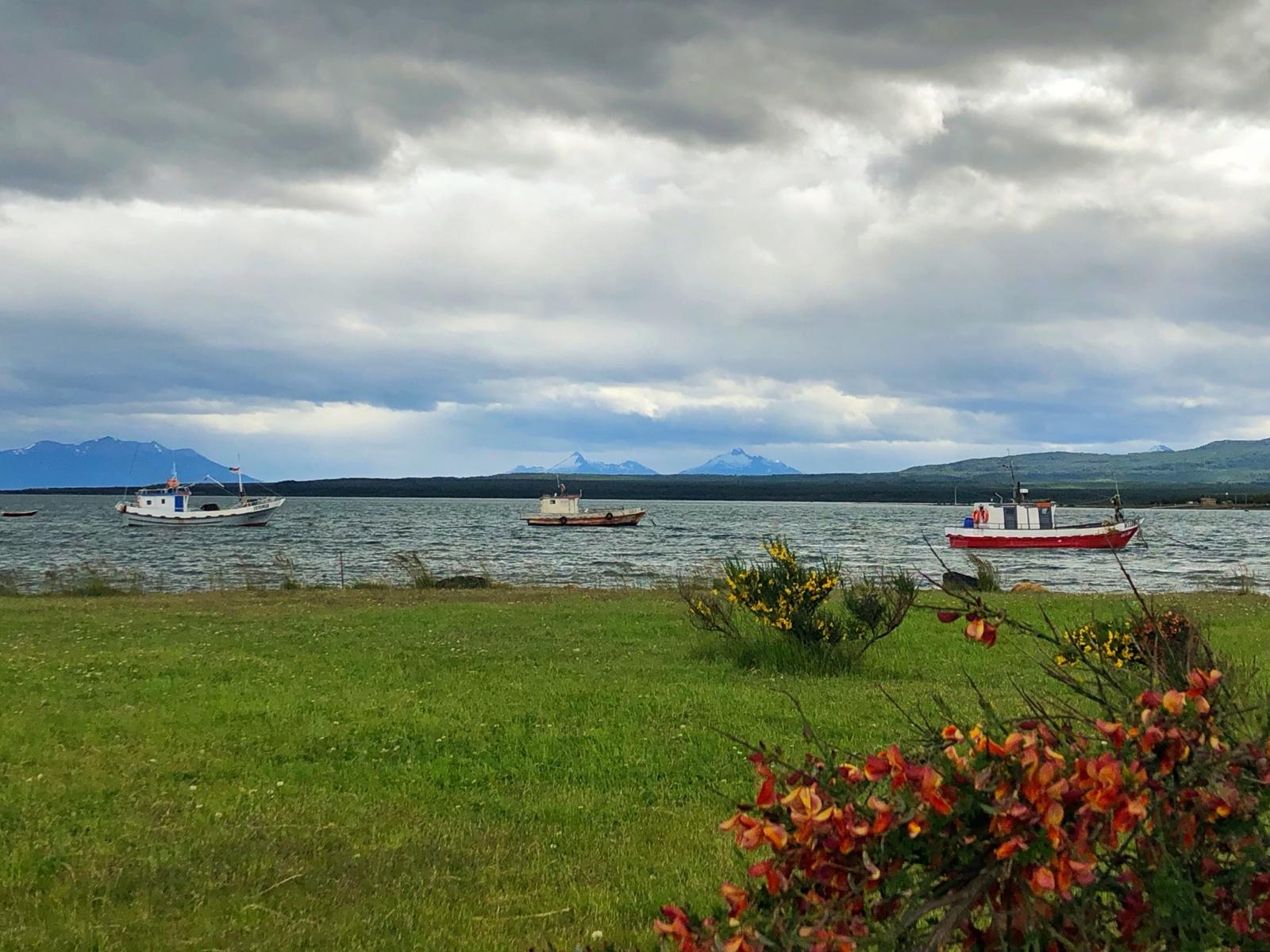 Unten am Hafen in Puerto Natales