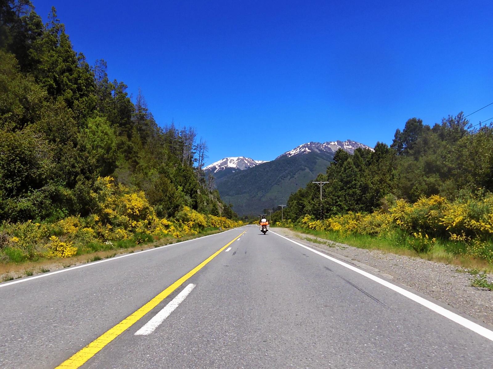 Ruta 40 kurz nach Bariloche