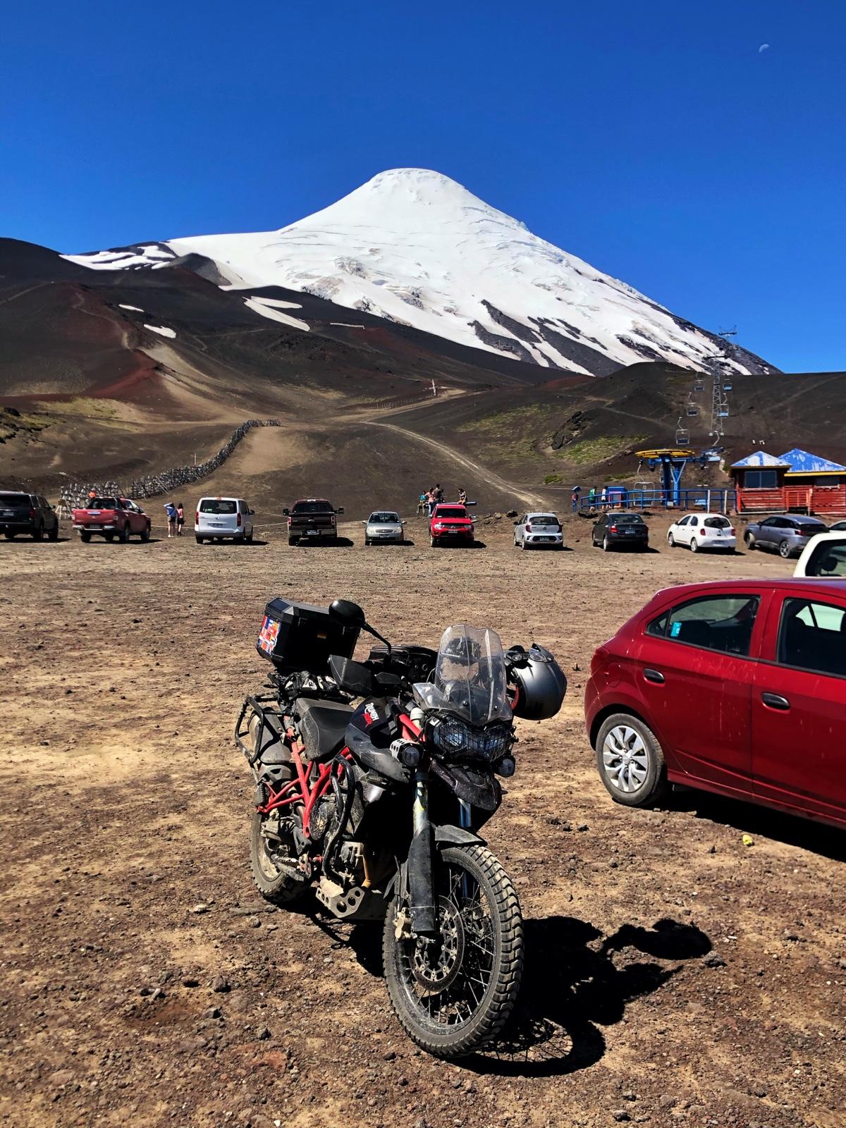 Auf dem Osorno